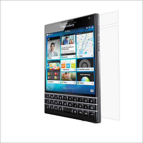 Blackberry Passport back