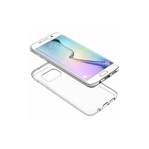 Carcasa din silicon transparenta pentru Samsung Galaxy S6 Edge
