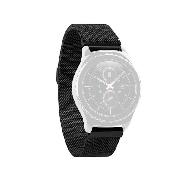 Curea metalica neagra Slim pentru Huawei Watch W1