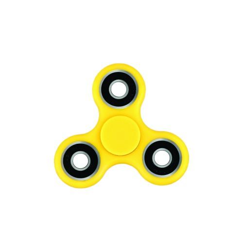 Jucarie Smart Antistres Fidget Spinner galben