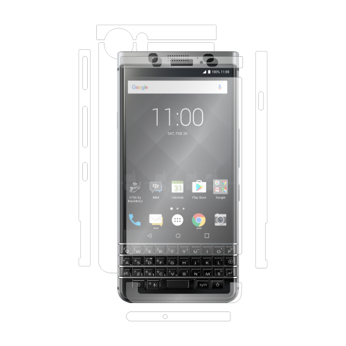 Folie de protectie Clasic Smart Protection BlackBerry KeyOne fullbody