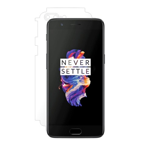Folie de protectie Clasic Smart Protection OnePlus 5 spate si laterale