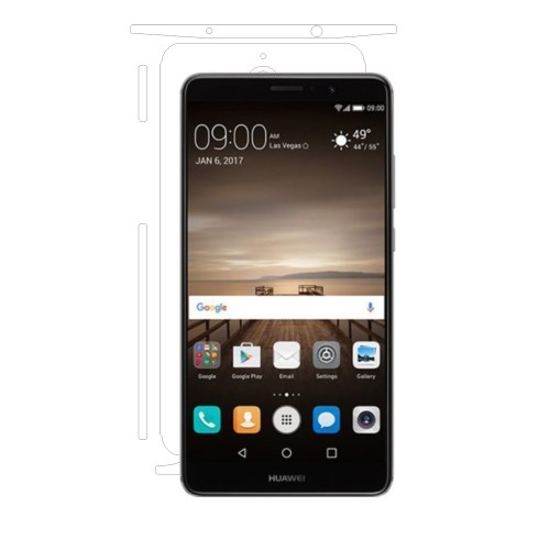 Folie de protectie Clasic Smart Protection Huawei Mate 9 spate si laterale