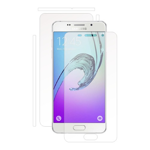 Folie de protectie Clasic Smart Protection Samsung Galaxy A3 2016 fullbody