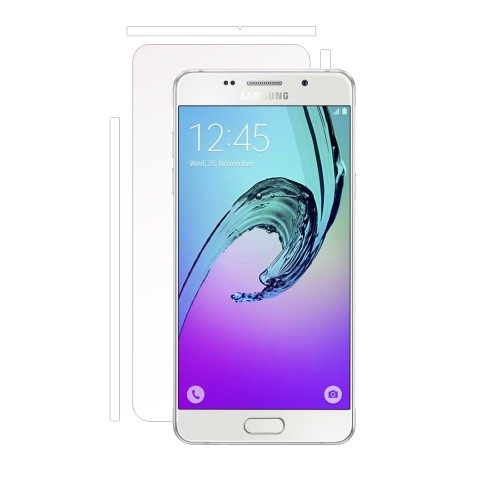 Folie de protectie Clasic Smart Protection Samsung Galaxy A3 2016 spate si laterale