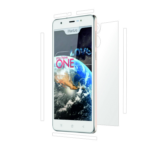 Folie de protectie Clasic Smart Protection iHunt One Love spate si laterale