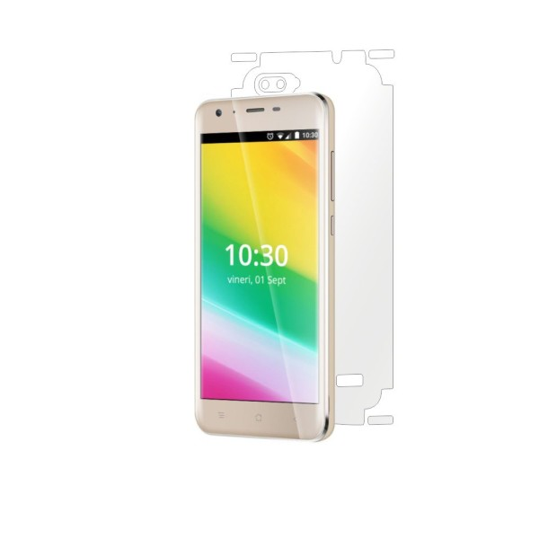 folie de protectie clasic smart protection iHunt Like 2 Rainbow 3 spate si laterale