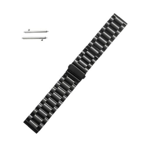 Curea metalica neagra pentru Samsung Gear S3